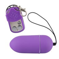 Vibro-bullet with a Remote Control »Silky«