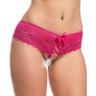 Crotchless Lace Panties