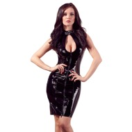 Vinyl Dress with Lacing