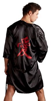 kimono-aus-satin-mit-bindegurtel-und-chinesischem-schriftzeichen