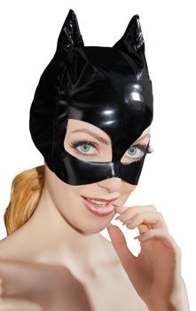 kopfmaske-aus-lack-mit-ohren-und-katzenaugen-offnungen
