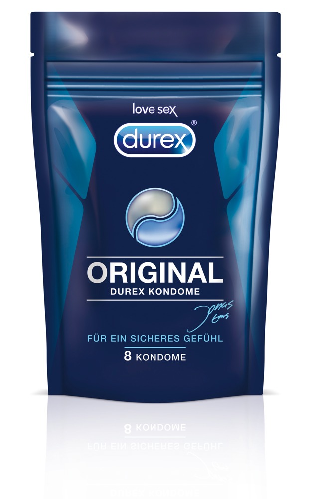 """Kondome """"Original´´, 8 Kondome, Verpackung wiederverschließbar"""