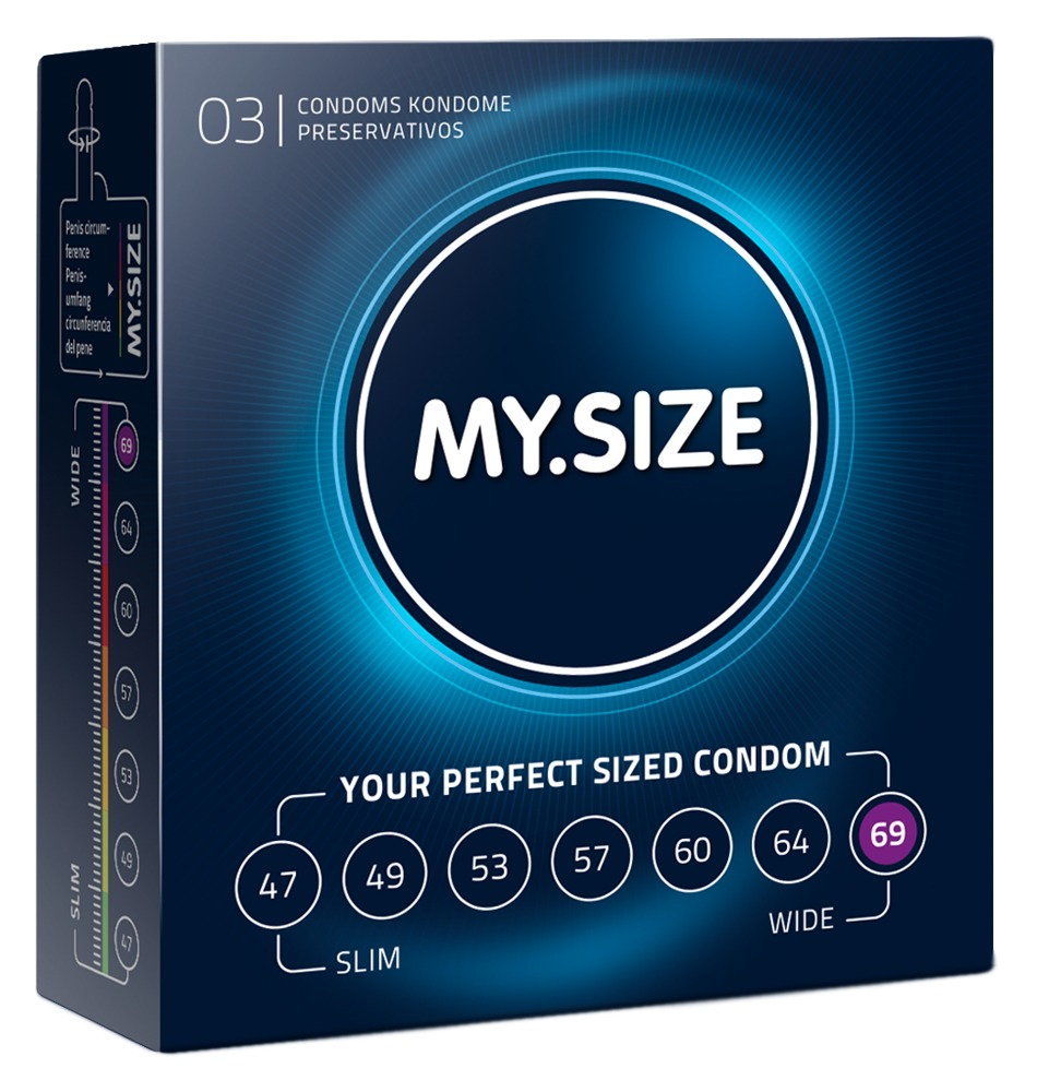 """Kondome """"69 mm´´ mit wenig Eigengeruch"""