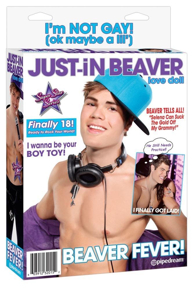"""Liebespuppe """"Just-in Beaver"""" mit 2 Öffnungen"""
