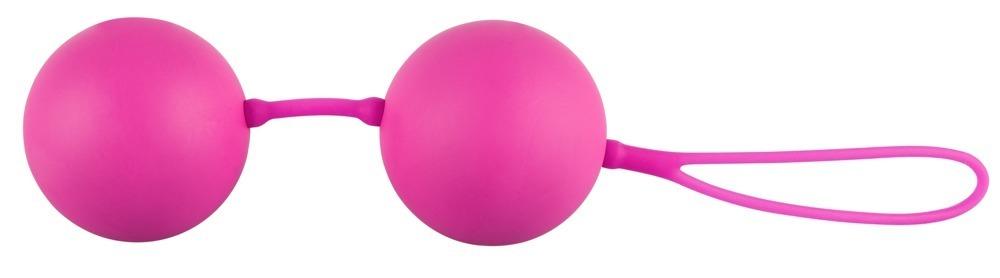 "Rosa Liebeskugeln ""XXL Balls"" 5 cm Durchmesser"