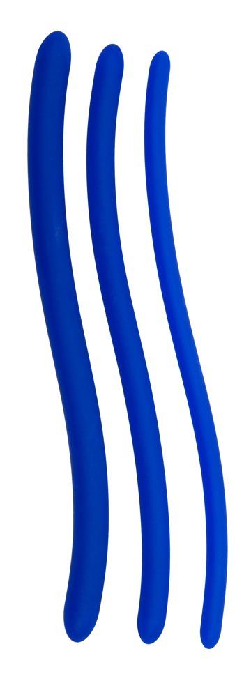 3-teiliges Dilatorenset 16,5 cm lang in Blau