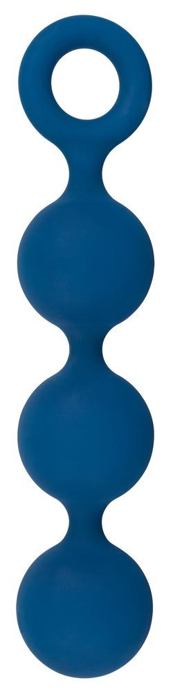 Analkette Anal Beads mit 3 Kugeln Blau