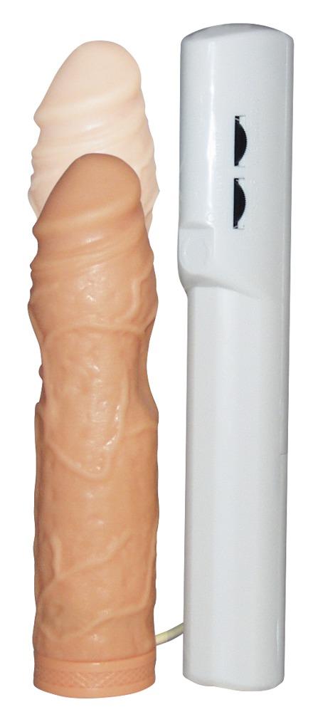 """Naturvibrator """"Excellerator´´, 16 - 18 cm, mit Stoßfunktion und Fernbedienung"""