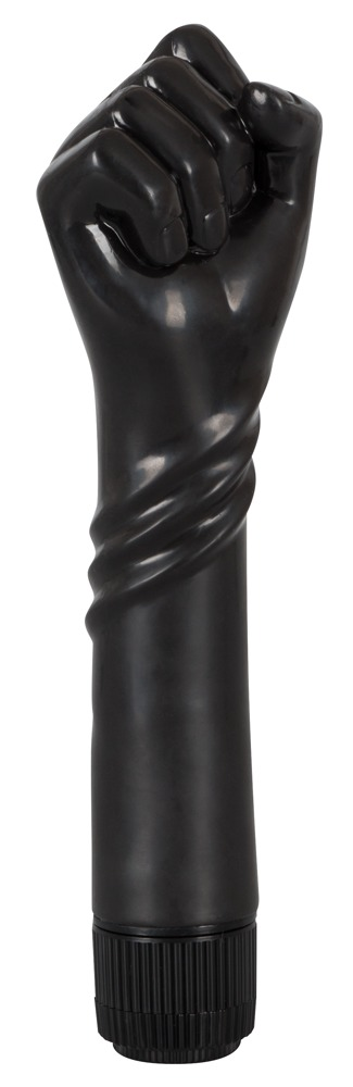 "Vibrator ""The Black Fist´´, 24 cm"