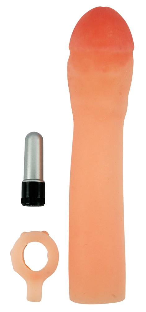 """Penissleeve """"X-tra Cock´´ mit Vibration"""