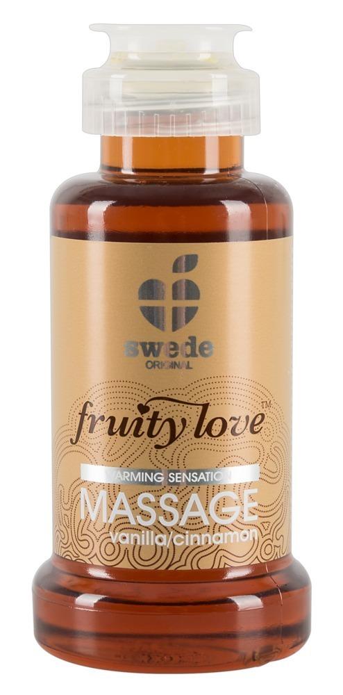 Massageöl ?fruity love´´ mit Vanille/Zimt-Aroma bei Orion - Erotikshop