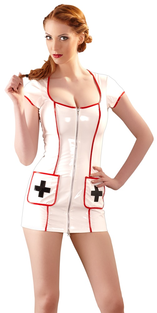 Krankenschwester-Kleid aus Lack bei Orion - Erotikshop