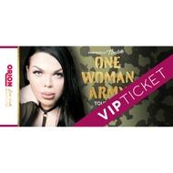 """VIP-Ticket Nicolette-Tour """"ONE WOMAN ARMY TOUR 2019´´"""