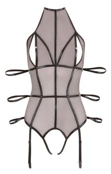 body-aus-transparentem-powernet-mit-glanzenden-wetlook-riemen-zum-fixieren-der-arme
