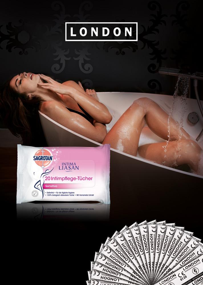 1000 Kondome plus 200 Intimpflege-Tücher