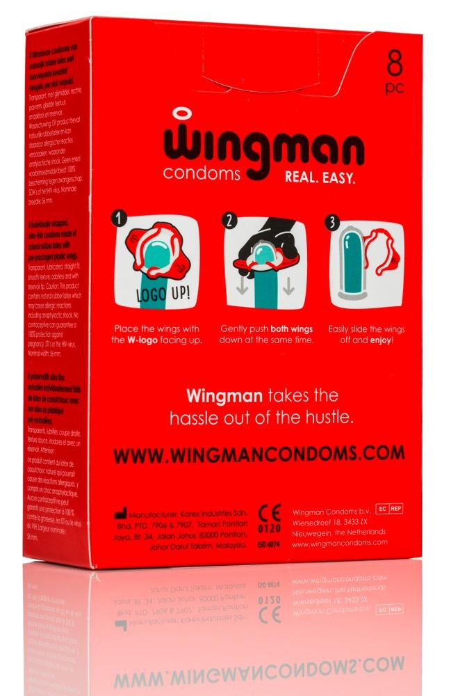 """Wingman Kondom """"Wingman´´ in 2 Sekunden mit 1 Hand angelegt"""