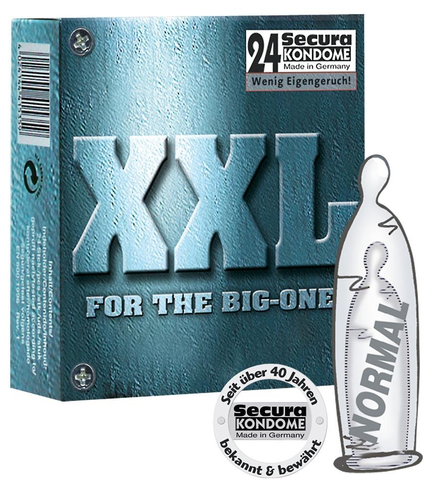 """Kondome """"XXL´´, extra groß"""