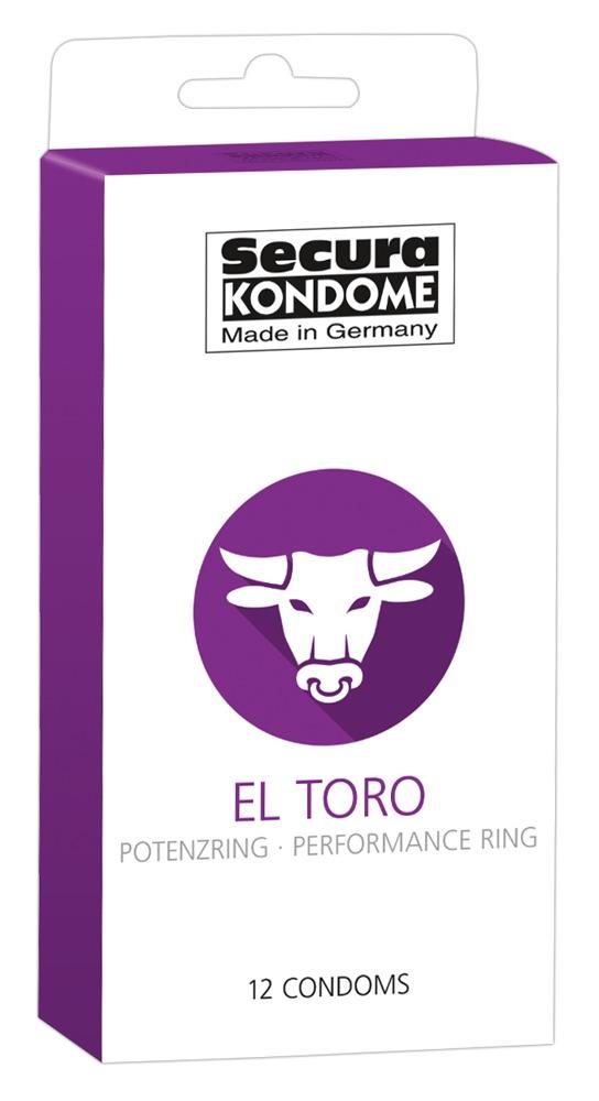 "Kondome ""El Toro, mit Potenzring"