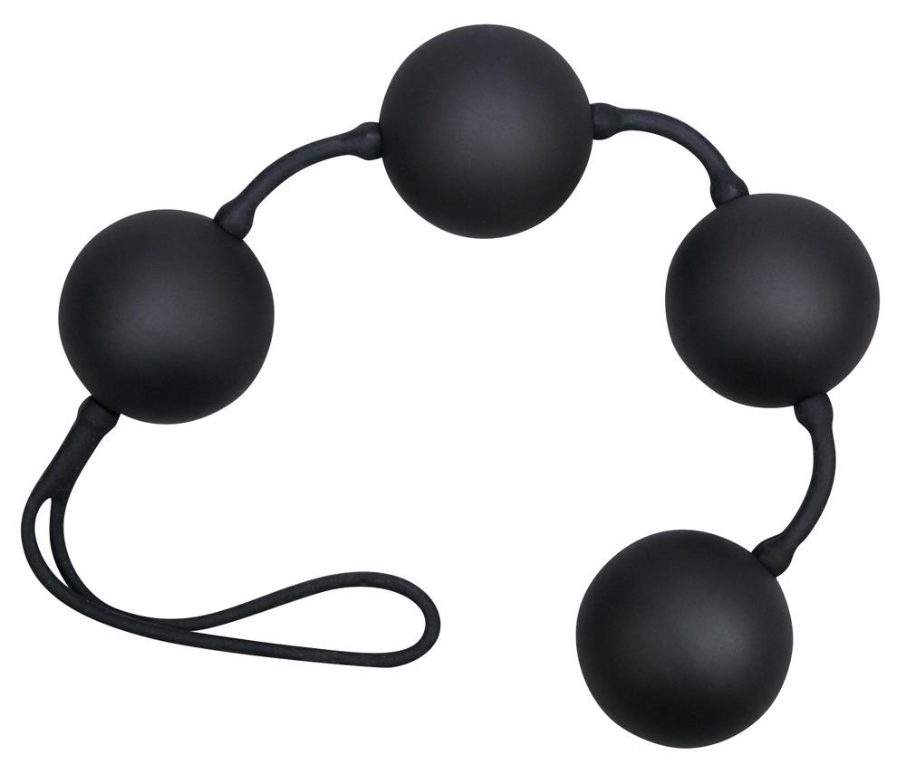 Velvet Liebeskugeln Black Balls 4 er Kugeln, Vibroball-Innenleben jetztbilligerkaufen
