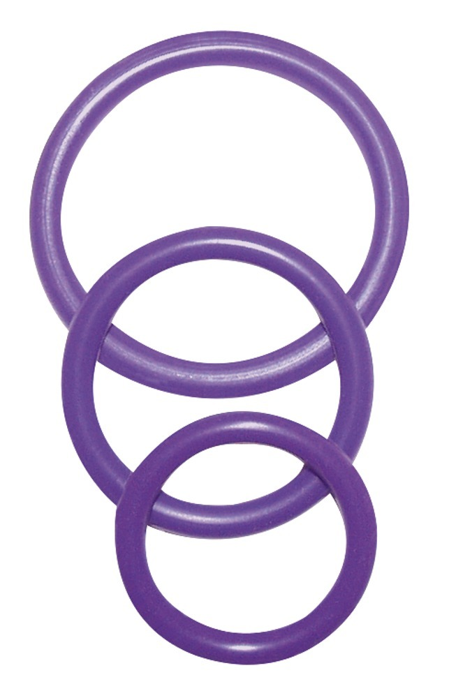 "3-teiliges Penisringset ""Cock & Ball Rings´´"