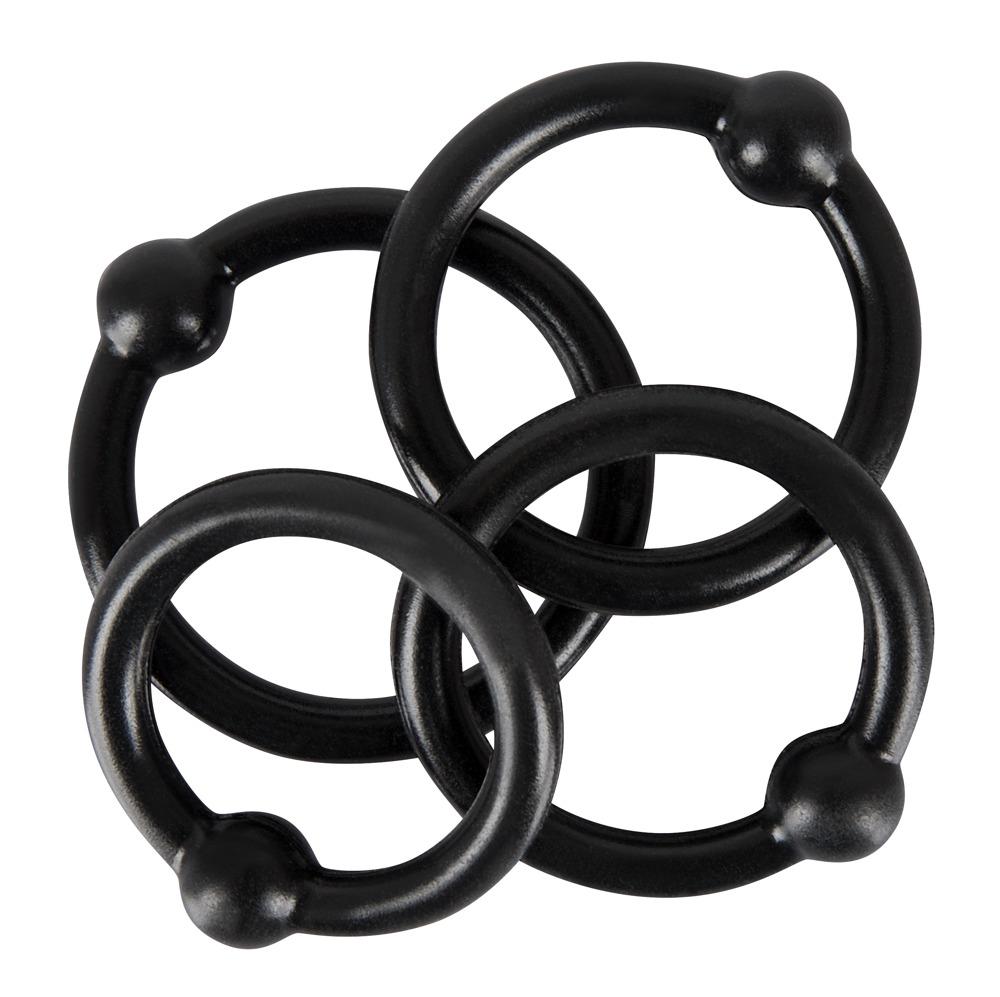 "4-teiliges Penisringset ""Silicone Cock Ring Set´´"