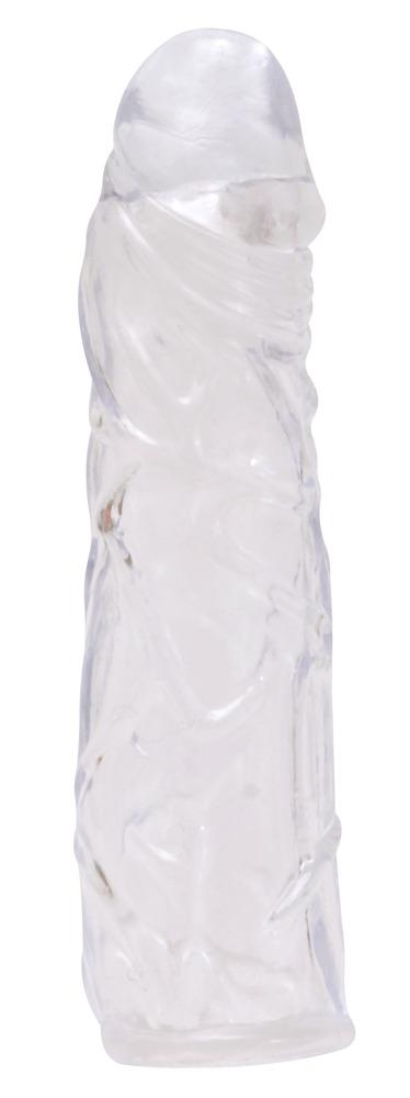 Penishülle, 16 cm, transparent