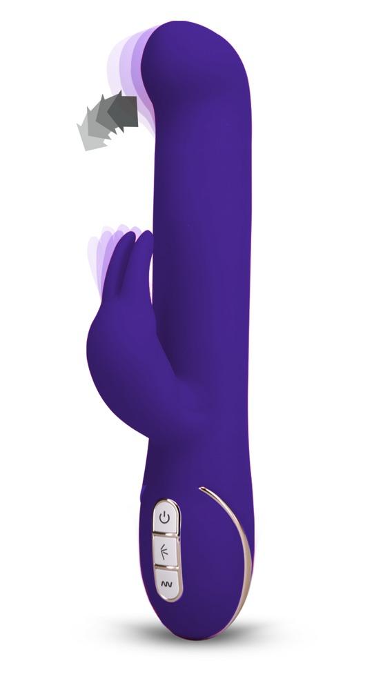 "Rabbitvibrator ""Rabbit Gesture´´ mit 7 Vibrationsstufen, 22 cm"