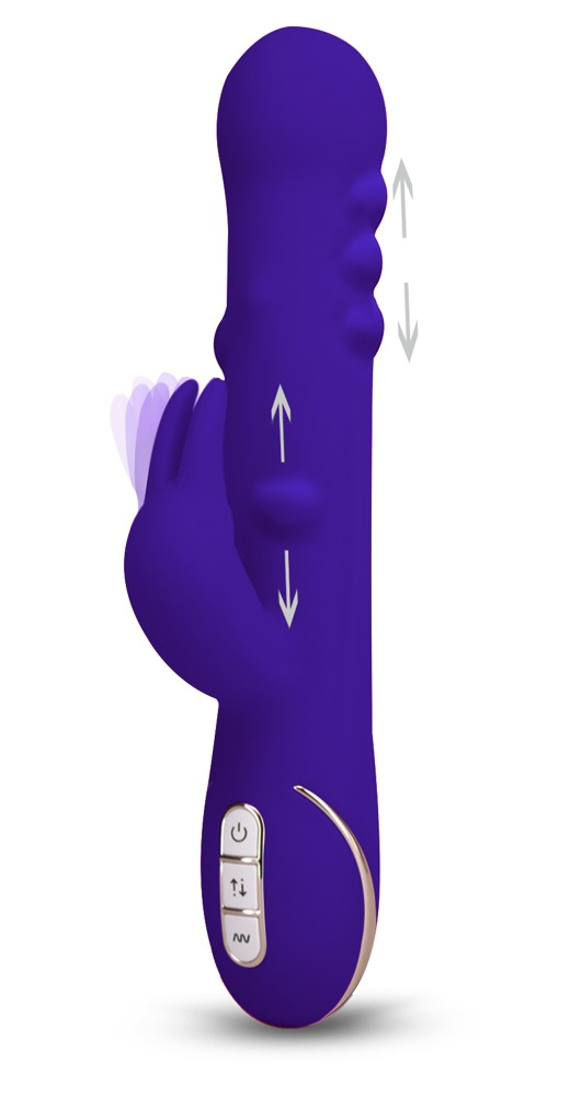 "Rabbitvibrator ""Rabbit Tres Chic´´ mit 7 Vibrationsstufen, 22 cm"