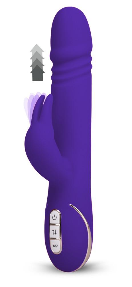 "Rabbitvibrator ""Rabbit Skater´´ mit 7 Vibrationsstufen, 23 cm"