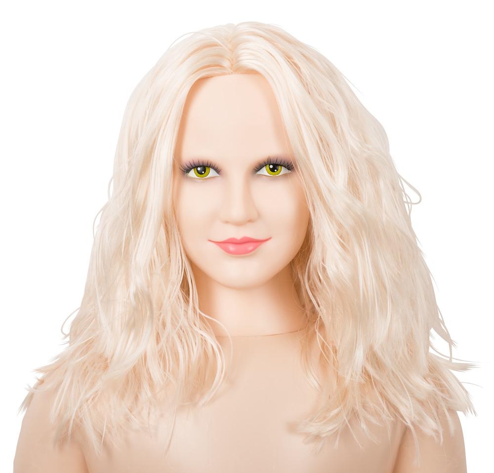 """ORION Liebespuppe """"Hot Lucy´´ mit 3D-Gesicht und Vibroei"""