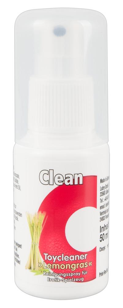 """Reinigungsspray """"Toy-Cleaner mit Lemongras Duft"""