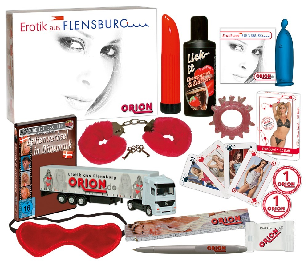 "15-teilige Lustbox ""Flensburg Paket´´"