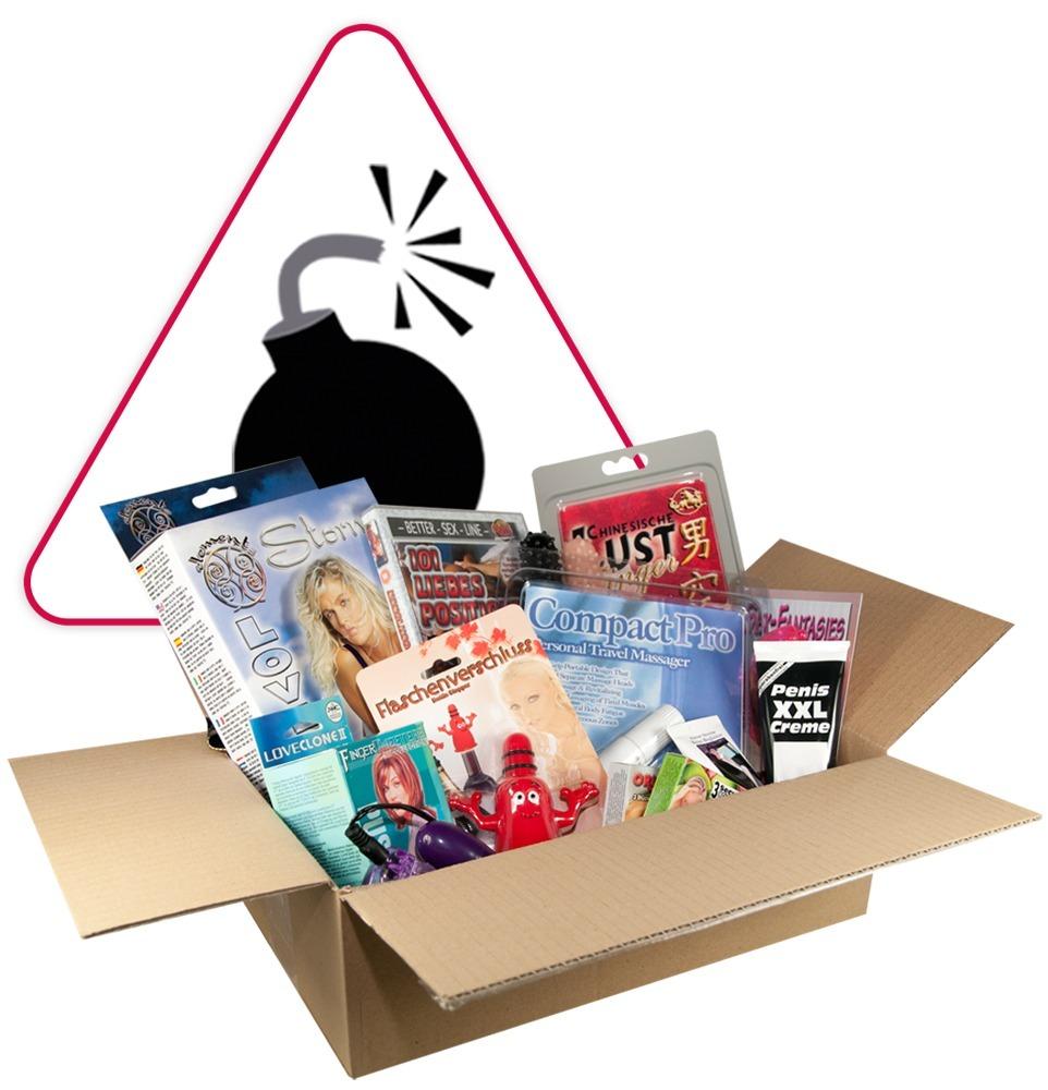 "18-teilige Box ""Sex-Preisbombe´´"