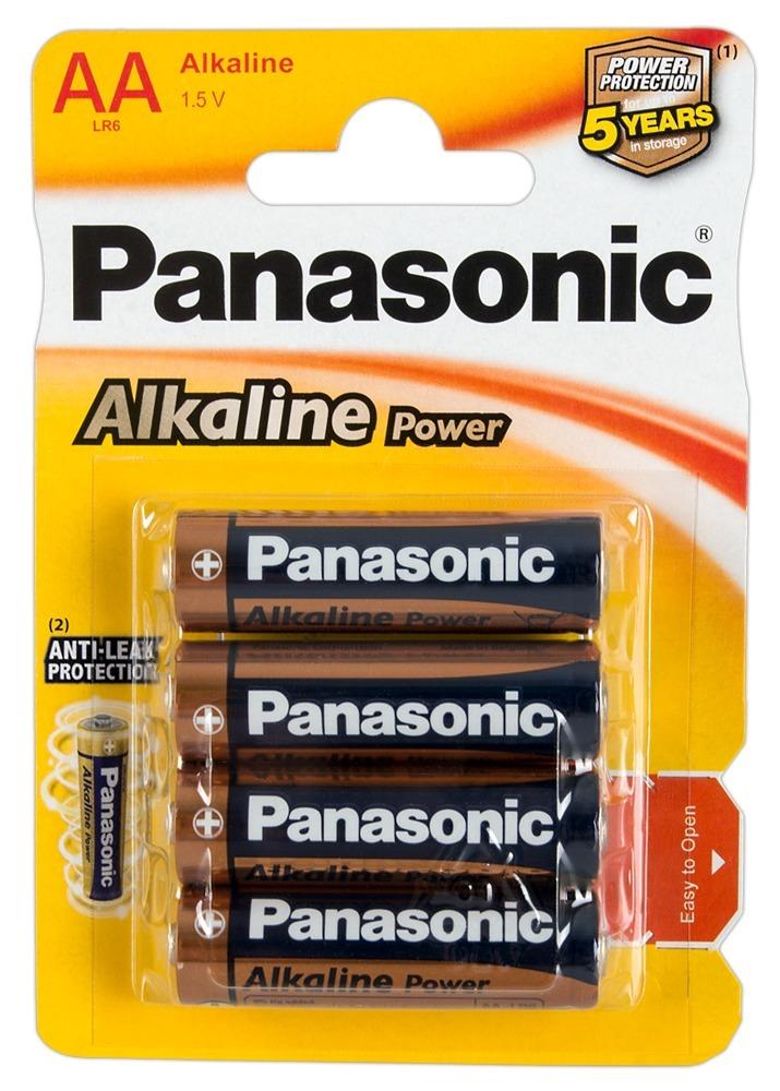 """Goeke Batterien """"Panasonic Alkaline Power Mignon´´, AA, 4er"""