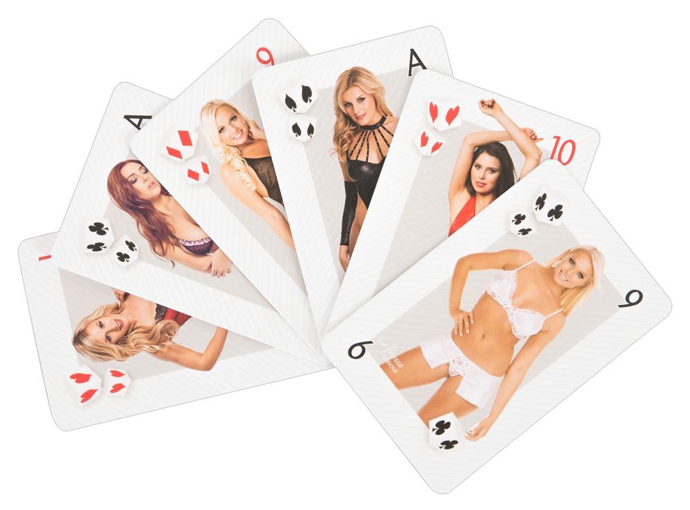 "Kartenspiel ""Erotik-Skat-Ladies´´, Skatspiel"