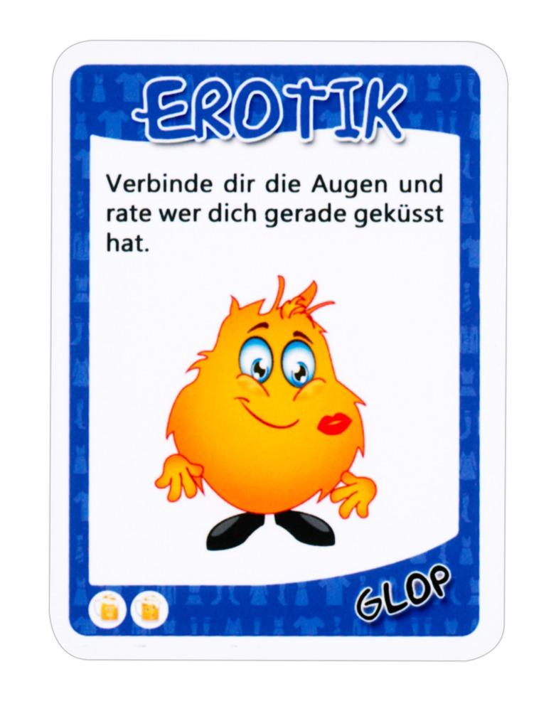 """GLOP Kartenset """"GLOP Klamotten´´ erotisches Trinkspiel"""