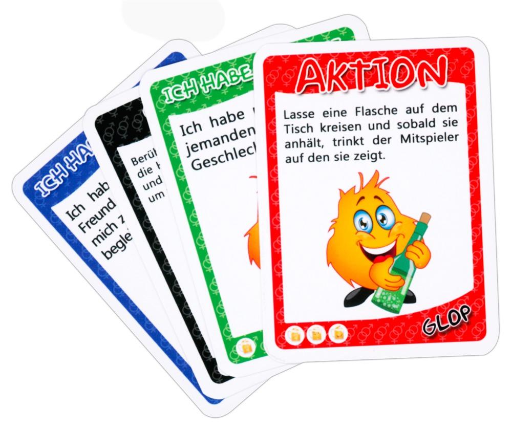 """GLOP Kartenset """"GLOP Erotik´´, erotisches Trinkspiel"""
