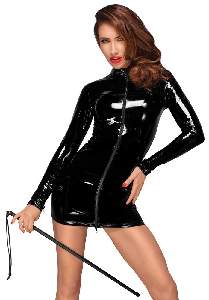 Waligora Minikleid mit schwarzem Reißverschluss in der Front